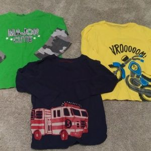 Jumping beans 24 month long sleeve shirts lot